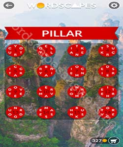 Wordscapes Pillar Answers
