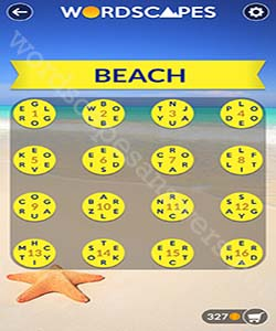 Wordscapes Beach Answers