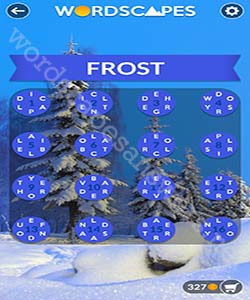 Wordscapes Frost Answers